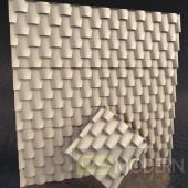 TexturedSurface 3d wall panel TSG215
