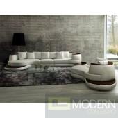 Modern Leather Sectional Sofa  MCNV210