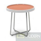 2 Modrest 213B - Modern Orange End Table