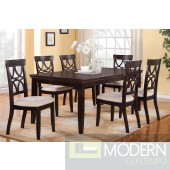 5pc Traditional Dark Polished Wood Formal Extension dining table Set. MCGSD2199/1221 Free 24 to 48hrs Delivery and set up in DMV metro area.