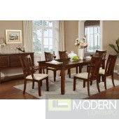 5pc Traditional Dark Oak Finish Wood Formal dining table Set. MCGSD2275-3 Free 24 to 3 days Free inside Delivery  in DMV metro area.