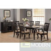 5PC Traditional Dark Cherry Wood Formal dining table Set. MCGSD23448586 Free 24 to 48hrs Delivery and set up in DMV metro area.