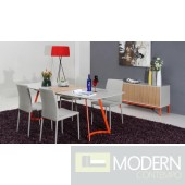 Modrest 2635XT - Modern Grey Ash Dining Table