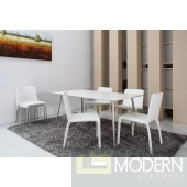 Modrest Roger - Modern White Dining Table