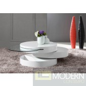 Modrest Tier - Modern Swivel Coffee Table