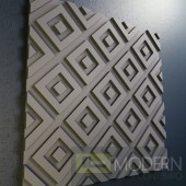 Textured 3d wall panel