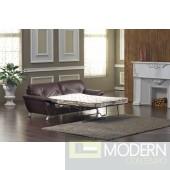 Divani Casa 2820 Bonded Leather Sofa Set with Sofa Bed