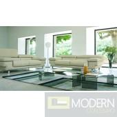 Divani Casa 2919 - Modern Bonded Leather Sofa Set