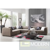 2986 - Fabric Sectional Sofa Set