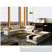 Modern Leather Sectional Sofa  MCNV302