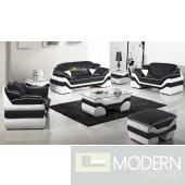 Modern Leather Sofa Set - MCNV303