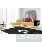 Modern Leather Sectional Sofa  MCNV304