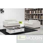 Modern Leather Sofa Set - MCNV307