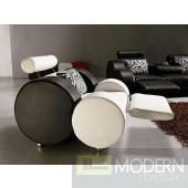 Divani Casa 3088 - Modern Leather Chair