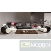Divani Casa 3088 - Modern Leather Sofa Set