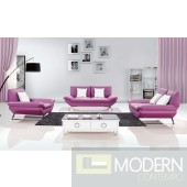 Modern Leather Sofa Set - MCNV308