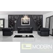 Modern Leather Sofa Set - MCNV310