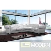 Modern Leather Sectional Sofa  MCNV310B