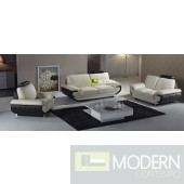 Modern Leather Sofa Set - MCNV312