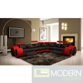 Divani Casa  4087 - Modern Bonded Leather Sectional Sofa