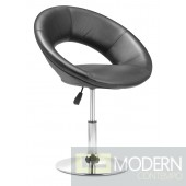 Pluto Lounge Chair Black