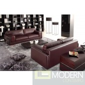 Divani Casa 522 - Modern Bonded Leather Sofa Set