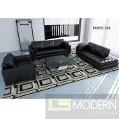 Divani Casa 524 - Modern Bonded Leather Sofa Set