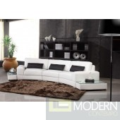 Divani Casa 525 - Modern Bonded Leather Sectional Sofa