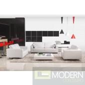 Divani Casa 527 - Modern Bonded Leather Sofa