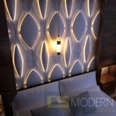 TEXTURED SURFACE CUSTOM 3D WALL SURFACE  PANEL-Headboard3