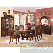 60050 Agate Dining Table in Cherry w/Options