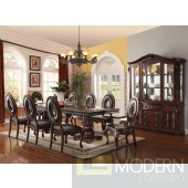 60310 Abbeville Dining Table in Cherry by Acme w/Options