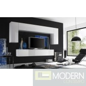 Modern Italian TV Wall Entertainment Unit MCPRM B