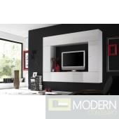 Modern Italian TV Wall Entertainment Unit MCPRM C