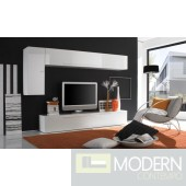 Modern Italian TV Wall Entertainment Unit MCPRM E
