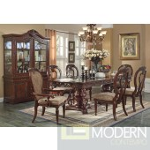 AC61860 Gwyneth Dining Table in Cherry by Acme w/Options