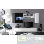 Modern Italian TV Wall Entertainment Unit MCPRM D
