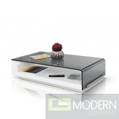 Modrest Tide - Modern Glass Coffee Table