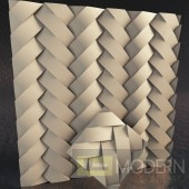 TexturedSurface 3d wall panel TSG237