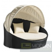 Colva Canopy Bed Espresso