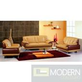 Divani Casa 7880 - Modern Bonded Leather Sofa Set