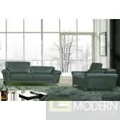 Divani Casa 8005 - Modern Bonded Leather Sofa Set