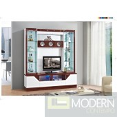 Contemporary Modern wall unit entertainment center MCSS8019