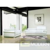 Divani Casa 8019 - Modern Bonded Leather Sofa Set
