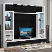 Contemporary Modern wall unit entertainment center MC8812
