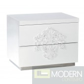 Temptation Juliet Modern 2-Drawer Nightstand