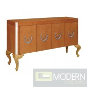 Empire Style Light Gloss Coffee Buffet