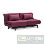 Swing Lounge Sofa Bed Purple