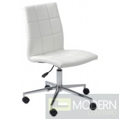 CYD OFFICE CHAIR WHITE