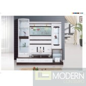 Contemporary Modern wall unit entertainment center MCSS932